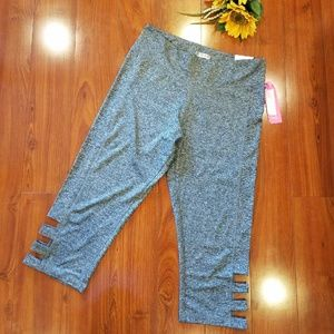 🛍Love Fit Gray Exercise Pants Size 1XL